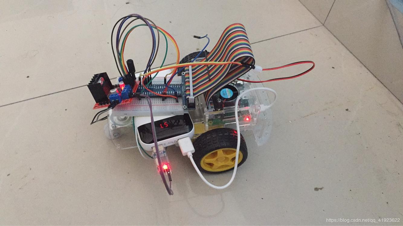 简单WiFi控制小车系统(树莓派+python+web控制界面)