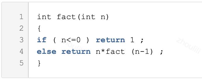 设有一个递归算法如下:          则计算fact(99)需要调用该函数的次数为()。