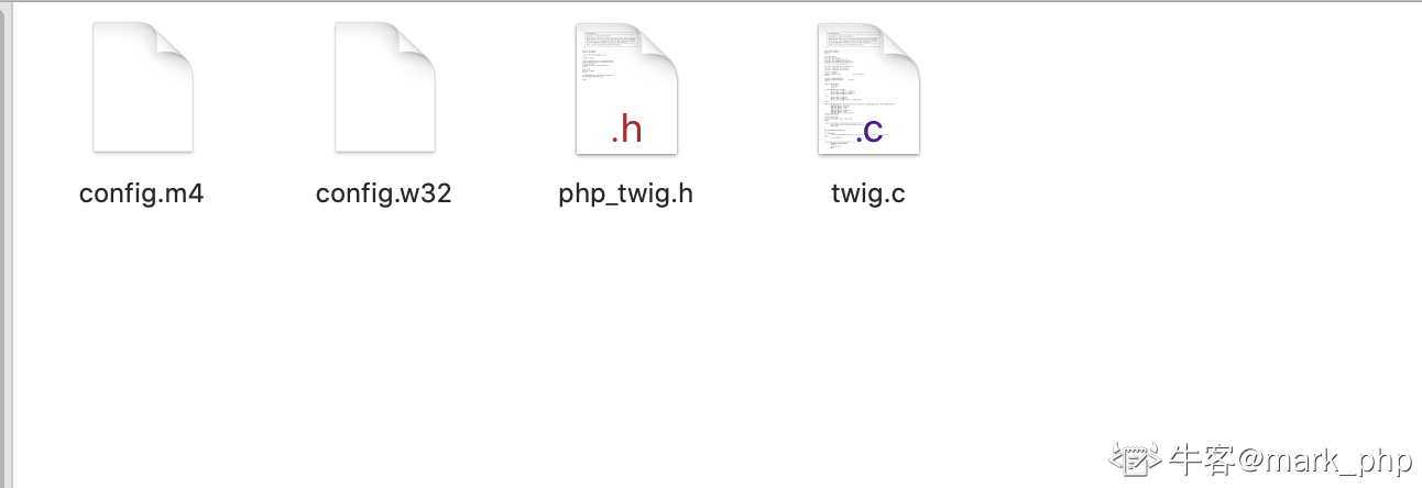 如果需要开发一个标准php的扩展,必须包含那些文件(多选):