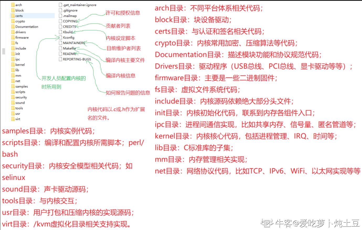 源码组织结构